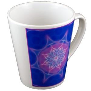Tasse conique Mandala de l'Allégresse