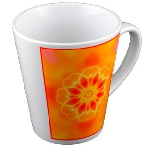 Tasse conique Mandala de l'Encouragement