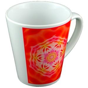 Tasse conique Mandala de la Maitrise
