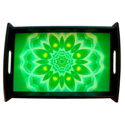 Serving tray Mandala of Enthousiasm