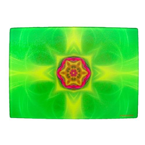 Cutting Board Mandala of Protection