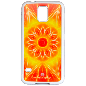 SwitchCase grip for Galaxy S5 mandala of Abundance