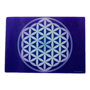 Purple Cutting Board Flower of Life