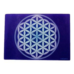 Purple Cutting Board Flower of Life