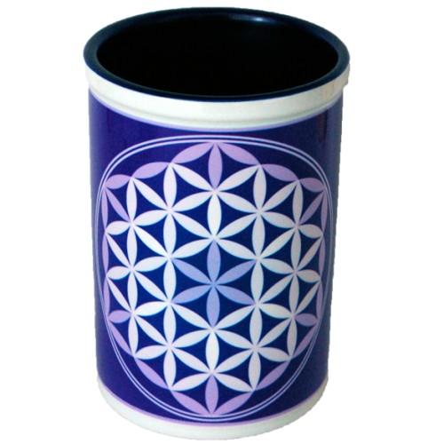 Purple Goblet Flower of Life