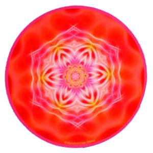 Round mouse pad Mandala of Mastery