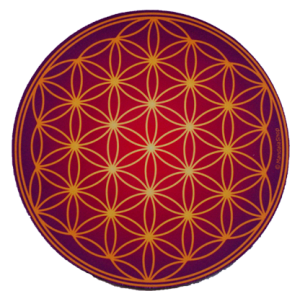 Round mouse pad Flower of Life