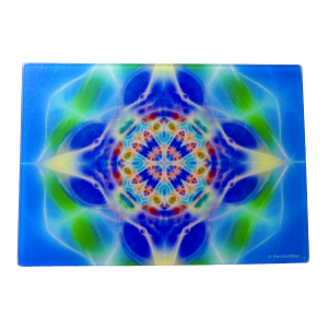 Cutting Board Mandala of Water
