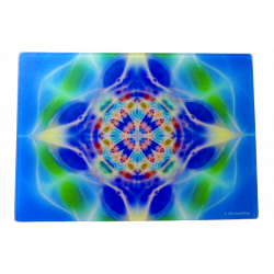 Planche à découper Mandala de l'Eau