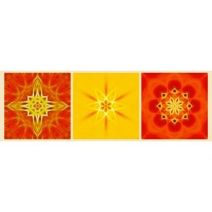 Mandala Triptych n°2
