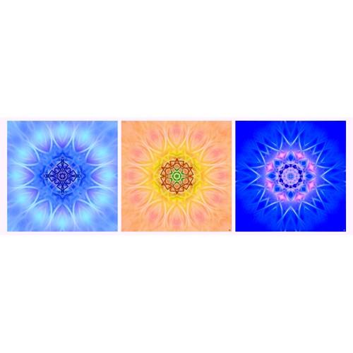 Triptyque mandala n°5