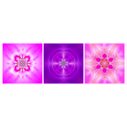 Mandala Triptych n°6