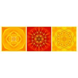 Mandala Triptych n°7