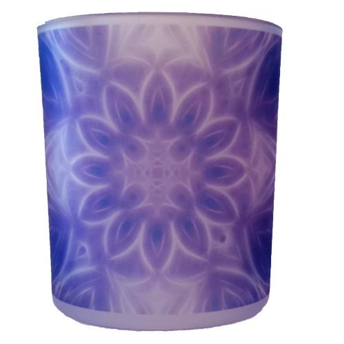 Candle holder mandala of Calm