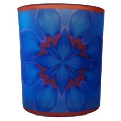 Candle holder mandala of Concentration