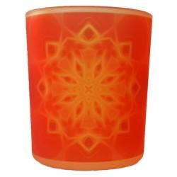 Candle holder mandala of Prosperity