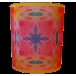 Candle holder mandala of Smile