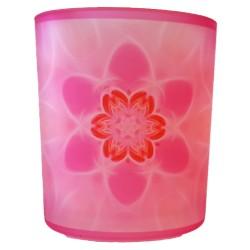 Candle holder mandala of Confidence