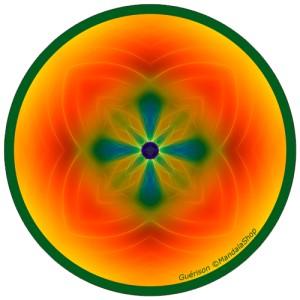 Disque harmonisant Mandala de la Guérison