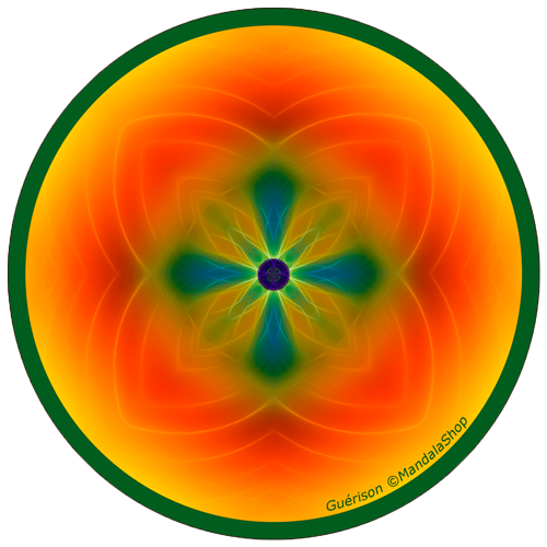 Harmonizing platter Mandala of Healing