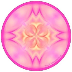 Disque harmonisant Mandala de l'Amour
