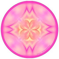 Harmonizing platter Mandala of Love