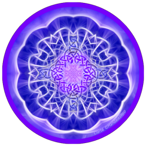 Harmonizing platter Mandala of Clarity