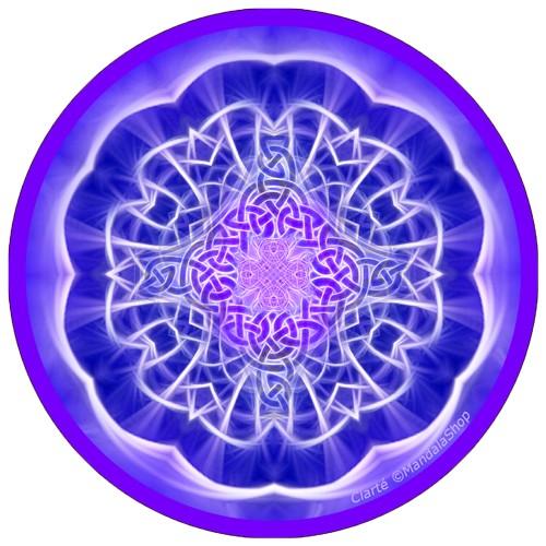 Harmonizing platter Mandala of Clarity