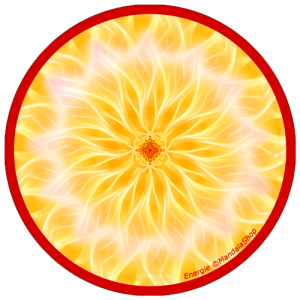 Harmonizing platter Mandala of Energy