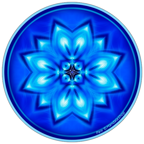 Harmonizing platter Mandala of Peace