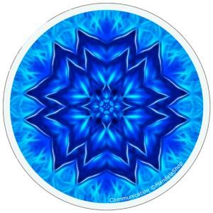 Disque harmonisant Mandala de la Communication