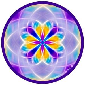 Disque harmonisant Mandala de la Solidarité