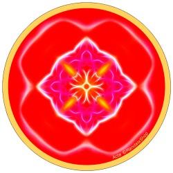 Harmonizing platter Mandala of Action