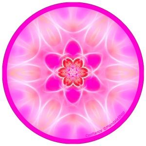 Harmonizing platter Mandala of Confidence