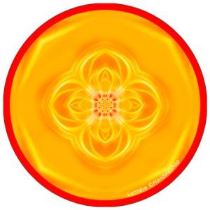 Disque harmonisant Mandala de la Lumière