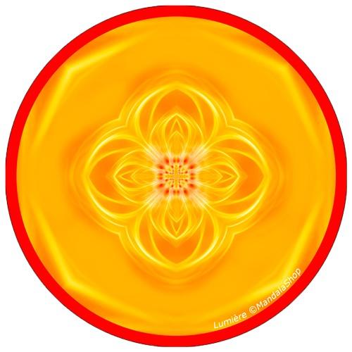 Harmonizing platter Mandala of Light