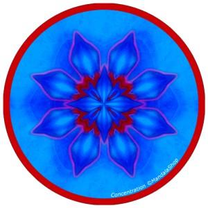 Disque harmonisant Mandala de la Concentration