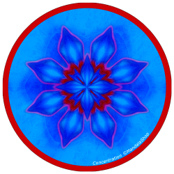 Harmonizing platter Mandala of Concentration