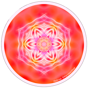Disque harmonisant Mandala de la Maitrise