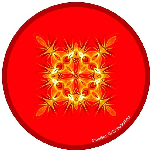 Harmonizing platter Mandala of Stability