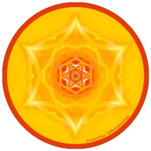 Disque harmonisant Mandala de l'Inspiration
