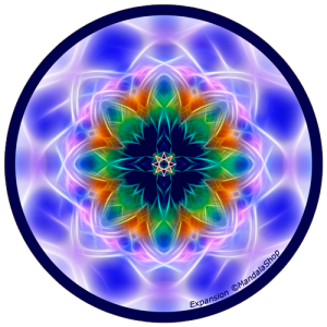 Harmonizing platter Mandala of Expansion