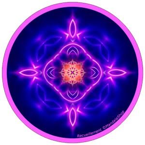 Disque harmonisant Mandala du Recueillement
