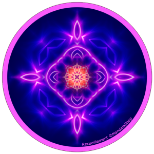 Harmonizing platter Mandala of Contemplation