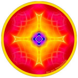 Disque harmonisant Mandala du Bon Sens