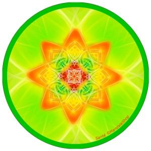 Disque harmonisant Mandala de la Santé
