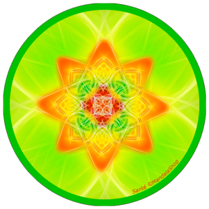 Harmonizing platter Mandala of Health