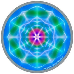 Disque harmonisant Mandala de la Méditation