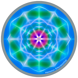 Harmonizing platter Mandala of Meditation