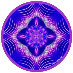 Disque harmonisant Mandala de la Patience